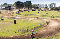 A general view off the racing at Wakes Colne during the Richard Fitch Memorial Trophy Motocross at Wakes Colne MX Circuit on 18th July 2021