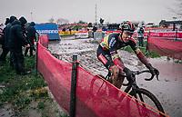 Belgian CX Champion Laurens Sweeck (BEL/Pauwels Sauzen-Bingoal)<br /> <br /> UCI cyclo-cross World Cup Dendermonde 2020 (BEL)<br /> <br /> ©kramon