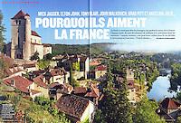 "Article Figaro Magazine, ""Pourquoi ils aiment la France?"""