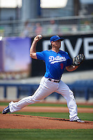 Tulsa Drillers pitcher Jeremy Kehrt (9) delivers a pitch during a game against the Midland RockHounds on June 3, 2015 at Oneok Field in Tulsa, Oklahoma.  Midland defeated Tulsa 5-3.  (Mike Janes/Four Seam Images)