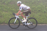 22nd May 2021, Monte Zoncolan, Italy; Giro d'Italia, Tour of Italy, route stage 14, Cittadella to Monte Zoncolan; 18 WARBASSE Lawrence USA