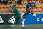 playonPROS (in navy blue) vs Wallsend Boys Club (in green), during their Masters Tournament match, part of the HKFC Citi Soccer Sevens 2017 on 27 May 2017 at the Hong Kong Football Club, Hong Kong, China. Photo by Chris Wong / Power Sport Images