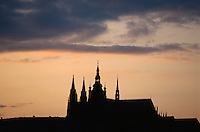 Tschechien, Prag, Hradschin, Unesco-Weltkulturerbe