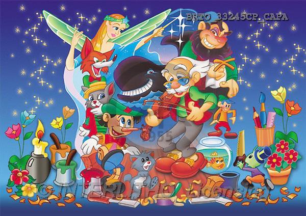 Alfredo, CUTE ANIMALS, puzzle, paintings(BRTO33245CP/CAPA,#AC#) illustrations, pinturas, rompe cabeza