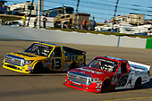 NASCAR Camping World Truck Series<br /> M&M's 200 presented by Casey's General Store<br /> Iowa Speedway, Newton, IA USA<br /> Friday 23 June 2017<br /> Cody Coughlin, JEGS Toyota Tundra, Austin Self, Niece Equipment/B&D Industries Toyota Tundra<br /> World Copyright: Brett Moist<br /> LAT Images