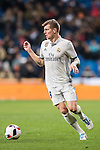 Toni Kroos of Real Madrid in action during their Copa del Rey 2016-17 Quarter-final match between Real Madrid and Celta de Vigo at the Santiago Bernabéu Stadium on 18 January 2017 in Madrid, Spain. Photo by Diego Gonzalez Souto / Power Sport Images