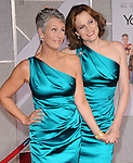 """Jamie Lee Curtis and Sigourney Weaver both wearing David Meister  at The Touchstone Pictures' World Premiere of """"You Again"""" held at The El Capitan Theatre in Hollywood, California on September 22,2010                                                                               © 2010 Hollywood Press Agency"""