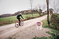 reconnaissance of the 12th Strade Bianche 2018
