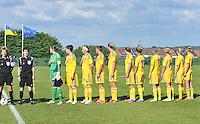 Belgium - Ukraine : Team Ukraine<br /> foto DAVID CATRY / Nikonpro.be