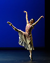 """Natalia Osipova presents PURE DANCE at Sadler's Wells. Ballerina, Natalia Osipova, curates a programme of dance works, spanning classical to contemporary. Piece shows is """"The Leaves Are Fading"""", choreographed by Antony Tudor. The dancers are Natalia Osipova herself, and David Hallberg."""