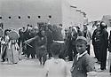 Iraq 1955 <br /> In a village, near the Zab river, north of Kirkuk, dervishs dancing during the drought Irak 1955 <br /> Pendant la secheresse au nord de Kirkouk, des derviches dancent dans un village  pres de la riviere Zab