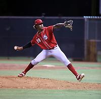 Alexander Johnson - Cincinnati Reds 2021 extended spring training (Bill Mitchell)