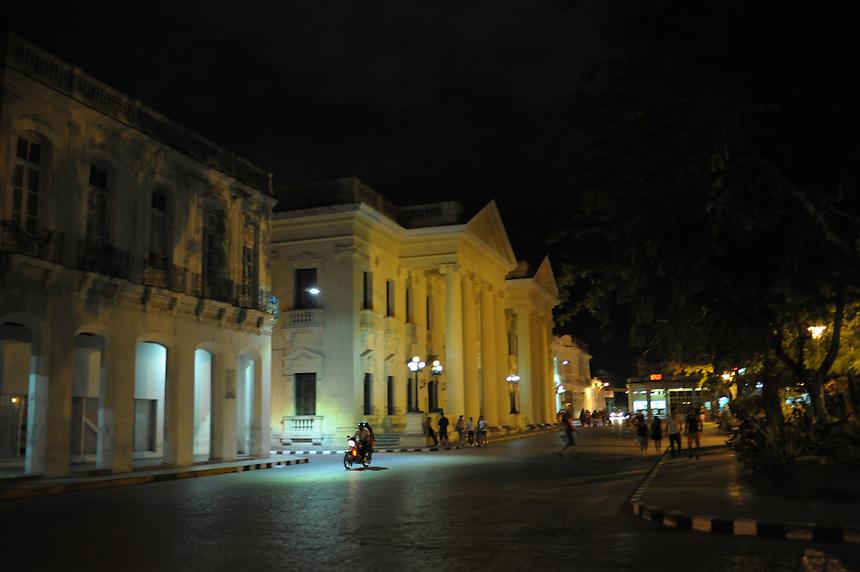 Midnight at Parque Vidal in Santa Clara, Cuba. MARK TAYLOR GALLERY