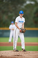 Gabe Nicholson (62), from Collierville, Tennessee, while playing for the Royals during the Baseball Factory Pirate City Christmas Camp & Tournament on December 29, 2017 at Pirate City in Bradenton, Florida.  (Mike Janes/Four Seam Images)