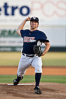 Pitcher Adam Warren of the Tampa Yankees during the Florida State League All Star Game on June 12 2010 at Space Coast Stadium in Viera, FL (Photo By Scott Jontes/Four Seam Images)