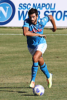 Sebastiano Luperto of SSC Napoli<br /> during the friendly football match between SSC Napoli and SS Teramo Calcio 1913 at stadio Patini in Castel di Sangro, Italy, September 04, 2020. <br /> Photo Cesare Purini / Insidefoto