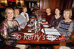 Breda Courtney (Inch), Nora Herlihey (Tralee), Josephine O'Connor (Castlemaine), Geraldine Sheehy (Tralee), Siobhan Foley (Milltown) and Maura Coleman (Killarney) enjoying the evening in the Grand Hotel on Saturday.