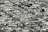 aerial photograph Marina district residential neighborhood San Francisco California