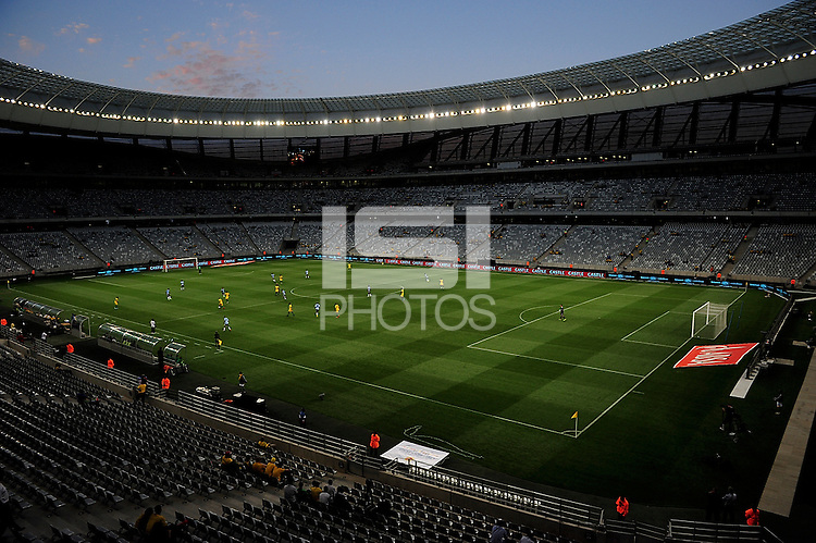 General view of the field before the  Soccer match between South Africa and USA played at the Greenpoint stadium in Cape Town South Africa on 17 November 2010.  Photo: Gerhard Steenkamp/ISI Photo