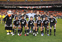 DC United Staring Eleven.  The Seattle Sounders FC defeated DC United 2-1at RFK Stadium, Saturday September 12 , 2009.