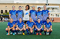 Boston, MA - Friday May 19, 2017: Boston Breakers starting eleven during a regular season National Women's Soccer League (NWSL) match between the Boston Breakers and the Portland Thorns FC at Jordan Field.