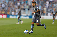 SAINT PAUL, MN - JUNE 23: Franco Fragapane #7 of Minnesota United FC with the ball during a game between Austin FC and Minnesota United FC at Allianz Field on June 23, 2021 in Saint Paul, Minnesota.