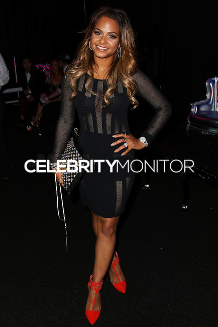 LOS ANGELES, CA, USA - MARCH 14: Christina Milian at the Style Fashion Week Los Angeles 2014 7th Season - Day 5 held at L.A. Live Event Deck on March 14, 2014 in Los Angeles, California, United States. (Photo by Xavier Collin/Celebrity Monitor)