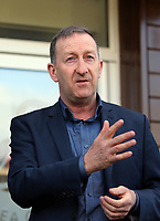 Pictured: Club chairman Huw Jenkins Tuesday 04 April 2017<br /> Re: Official opening of the Fairwood Training Complex of Swansea City FC, Wales, UK