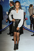 """HOLLYWOOD, CA - NOVEMBER 19: China Anne McClain at the World Premiere Of Walt Disney Animation Studios' """"Frozen"""" held at the El Capitan Theatre on November 19, 2013 in Hollywood, California. (Photo by David Acosta/Celebrity Monitor)"""