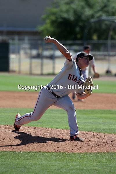 Martin Agosta - San Francisco Giants 2016 spring training (Bill Mitchell)