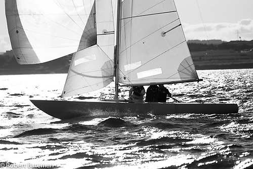 Michael McCann's Etchells 22 on her way to winning the Royal Cork's evening race