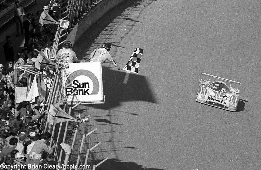 the SunBank 24 at Daytona, Daytona International Speedway, Daytona Beach, FL, Feb. 4-5, 1984. (Photo by Brian Cleary/www.bcpix.com)