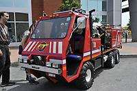Montreal (Qc) Canada - June 13 2009 -custom emergency-fire truck