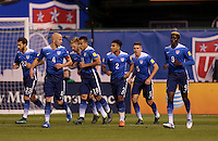 St. Louis, Mo. - Friday, November 13, 2015: The USMNT and St. Vincent and the Grenadines all even 1-1 in first half play during  their 2018 FIFA World Cup Qualifying match at Busch Stadium.