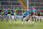 Ronan Buckley, Dara Moynihan, Kerry in action against Colm Basquel and Brian Fenton, Dublin during the Allianz Football League Division 1 South between Kerry and Dublin at Semple Stadium, Thurles on Sunday.