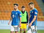 St Johnstone v Falkirk…24.07.18…  McDiarmid Park    Betfred Cup<br />Matty Kennedy after making his debut<br />Picture by Graeme Hart. <br />Copyright Perthshire Picture Agency<br />Tel: 01738 623350  Mobile: 07990 594431