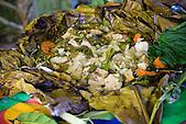 Le bougna, plat traditionnel kanak, Nouvelle-Calédonie