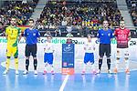 Jaen P. Interior Antonio Manuel Sanchez and Rios R. Zaragoza Carlos Retamar during Semi-Finals Futsal Spanish Cup 2018 at Wizink Center in Madrid , Spain. March 17, 2018. (ALTERPHOTOS/Borja B.Hojas)