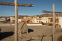 Spain - Andalusia - Panoramic view of Fort Bravo, a Western movie set.
