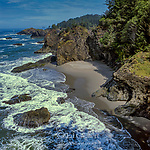 Coastline, Boardman State Park, Curry County, Oregon
