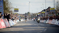 solo victory for Geraint Thomas (GBR/SKY) in the 58th E3 Harelbeke 2015