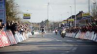 solo victory for Geraint Thomas (GBR/SKY) in the 58th E3 Harelbeke 2015