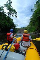 River rafting on the Chiriqui Viejo, Panama