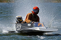 3-F (runabout)....Stock  Outboard Winter Nationals, Ocoee, Florida, USA.13/14 March, 2010 © F.Peirce Williams 2010