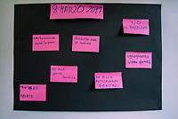 Como, Italia, 8 Marzo 2017. Festa delle donne presso la scuola di italiano per donne straniere