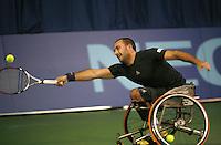 18-11-07, Netherlands, Amsterdam, Wheelchairtennis Masters 2007, Jeremissz in full stretch