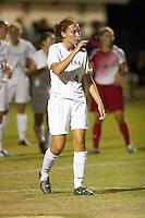 SAN ANTONIO, TX - AUGUST 25, 2006: The Texas Tech University Red Raiders vs. The University of Texas at San Antonio Roadrunners Women's Soccer at the UTSA Soccer Field. (Photo by Jeff Huehn)