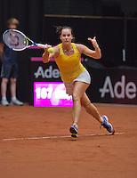 April 18, 2015, Netherlands, Den Bosch, Maaspoort, Fedcup Netherlands-Australia,    Jarmila Gajdosova (AUS)<br /> Photo: Tennisimages/Henk Koster