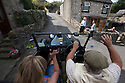 16/08/16<br /> <br /> Debbie Slater enjoys her ride home from the Old Bowling Green pub, Winster as villagers wave at the vintage car.<br /> <br /> You'd be forgiven for thinking you'd had one drink too many if you called a cab in this Derbyshire Peak District village, because you'll get a 1929 vintage Model A Ford turn up as it's the only taxi in town!<br /> <br /> Full story here: https://fstoppressblog.wordpress.com/vintage-car-is-the-only-taxi-in-town/<br /> <br /> What's more, it's the oldest vehicle licensed for private hire in the UK, as cars usually have to be less than three years old to get a licence.<br /> <br /> But thanks to a special exemption to get round not having seat belts and the usual modern specifications, this fabulous-looking car is a regular sight pootling around the narrow lanes of the Derbyshire Dales.<br /> <br /> So when Debbie Slater needed a ride home from the Old Bowling Green pub in Winster she knew exactly who to call for an open-top ride in the sunshine.<br /> <br /> All Rights Reserved, F Stop Press Ltd. +44 (0)1773 550665