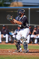 Seattle Mariners Johan Quevedo (35) during an instructional league intrasquad game on October 6, 2015 at the Peoria Sports Complex in Peoria, Arizona.  (Mike Janes/Four Seam Images)